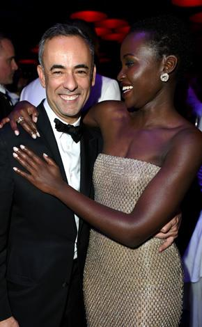 Lupita Nyong-o was a social butterfly, as ever.