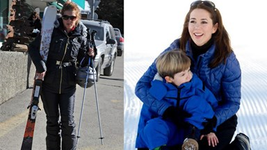 Royals on ski holidays