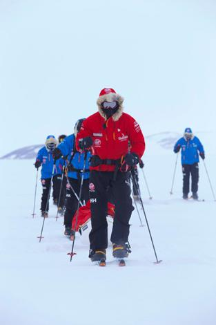 Not exactly a holiday (or any kind of fun at all, really), Prince Harry trained for, and walked to the South Pole in Antarctica as part of his work with the charity Walking Wounded, which helps injured servicemen and women re-train in other fields.