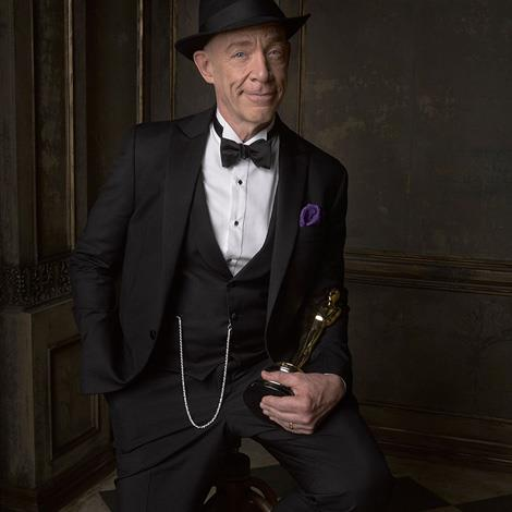 Could Oscar winner J.K Simmons be any dandier? Image by Mark Seliger, via Instagram/@markseliger