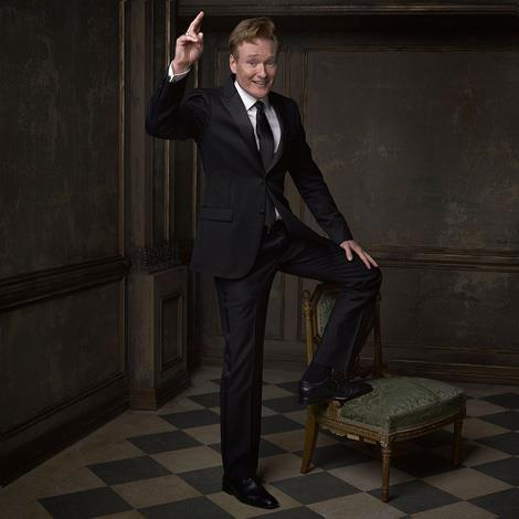 Conan O'Brien, perfectly encapsulated. Image by Mark Seliger, via Instagram/@markseliger