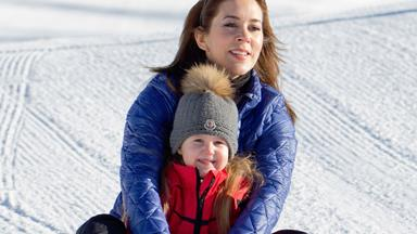 Princess Mary and Prince Frederick take family on holiday in Switzerland