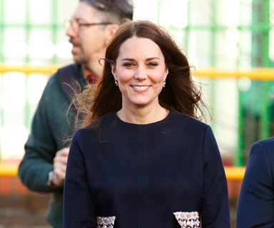 Kate Middleton's first royal baby bump sighting of 2015
