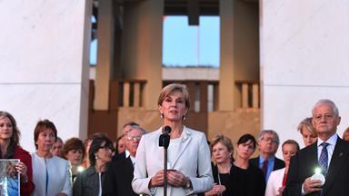 Julie Bishop suggests a 'prisoner swap' in the 11th hour