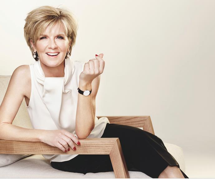Julie Bishop photoshoot