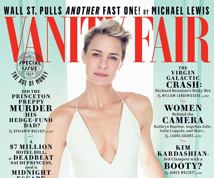Vanity Fair magazine cover Robin Wright