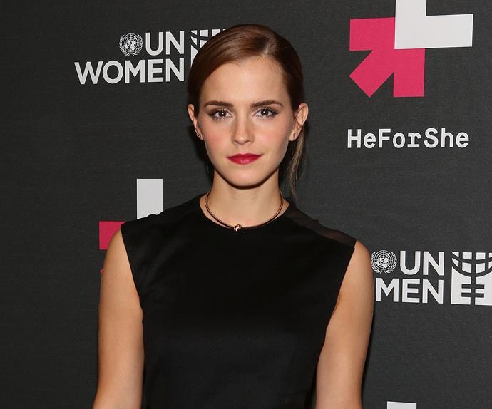 Emma Watson, Women's Rights advocate.
