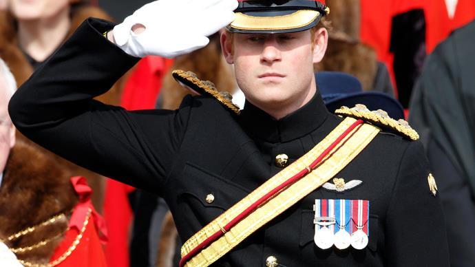 Prince Harry uniform