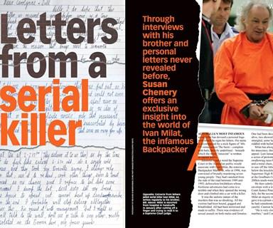 Serial killer's letters from jail go viral