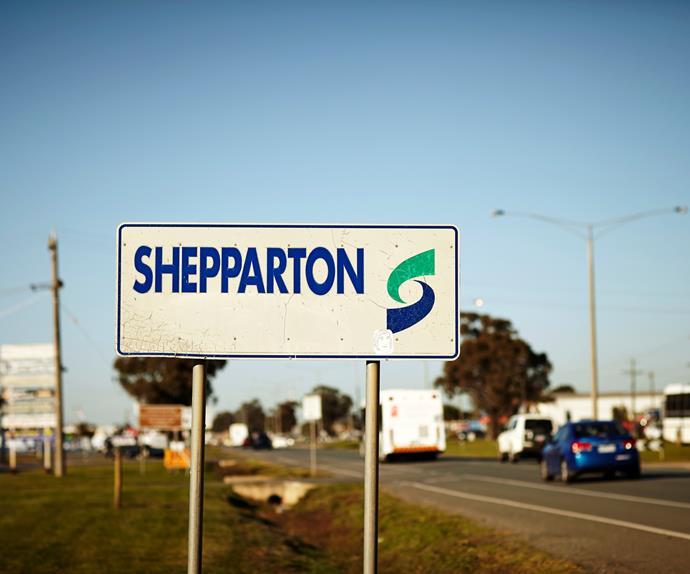 Shepparton sign
