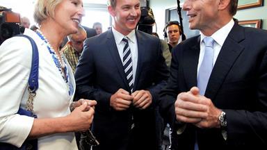 World's most senior transgender military officer Cate McGregor defends her mate Tony Abbott