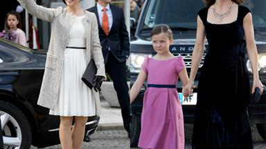 Princess Mary looks stunning at Queen Margarethe's 75th birthday celebrations