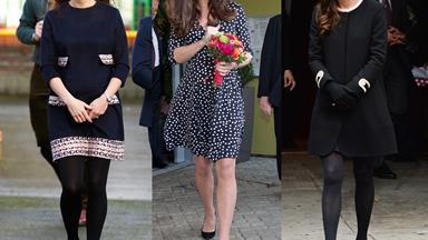 Kate Middleton's amazing maternity style