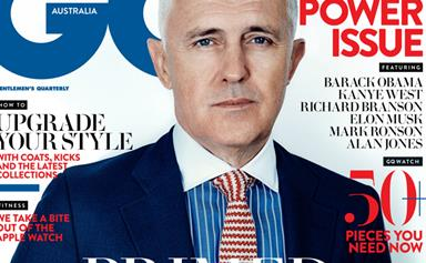 PICTURES: Malcolm Turnbull fronts the cover of GQ Magazine.