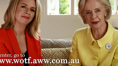 Dame Quentin Bryce announces this year's Women of the Future awards