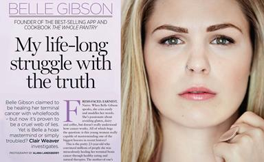 On sale now: the truth about Belle Gibson