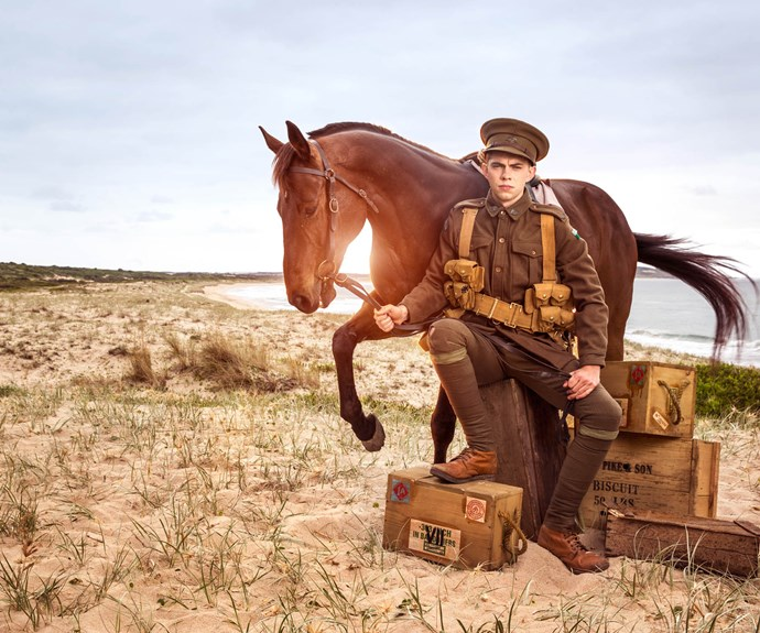 A look into the past: the cast of Gallipoli celebrate ANZAC Day