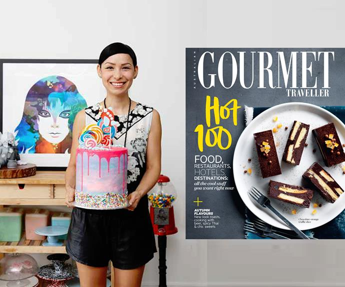Katherine Sabbath cake for Australian Gourmet Traveller Hot 100