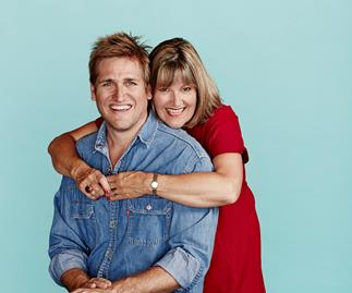 Curtis Stone and his mum