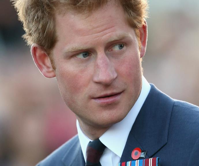 Rubbing Noses With Prince Harry