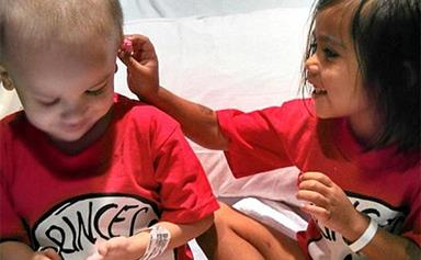 Cancer-fighting best friends face chemo together