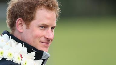 Prince Harry falls in love and pranks the press