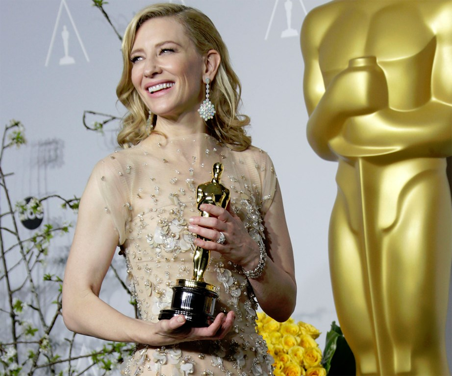 """**4. Cate Blanchett on women suffering sexual harassment...** """"I mean, you know we all like looking sexy, but it doesn't mean we want to f*** you."""""""