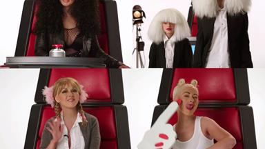 WATCH: Christina Aguilera nails these celebrity impersonations