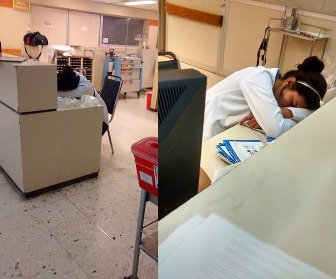 #YoTambienMeDormi: Dozing doctors defend sleeping resident