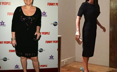 Julia Morris shows off amazing weight loss with a bikini selfie