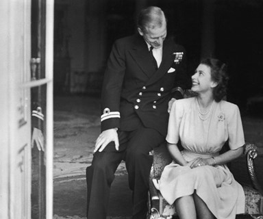 Portrait of devotion: Queen Elizabeth and her Prince