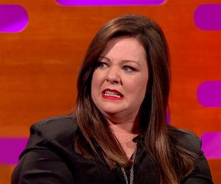Melissa McCarthy haunted by embarrassing 90s head shots