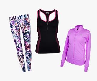 Winter workout fashion