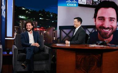 WATCH: Kit Harington judges Jon Snow impersonations