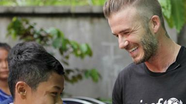 David Beckham: 'No child should be in danger'