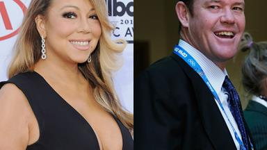 Wait... what? Mariah Carey spotted on date with James Packer