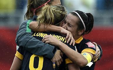 Matildas shock win makes football history