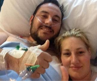 Man takes bullets for fiancee in terror attack