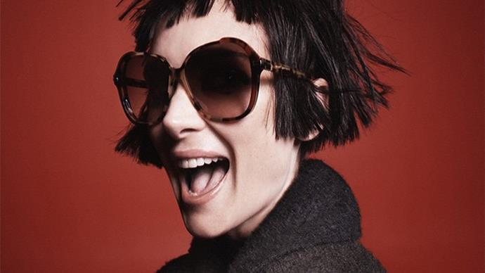 Winona Ryder fronts fashion campaign at 43