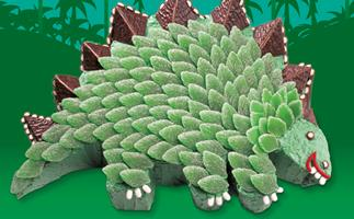 How the death of spearmint leaves threatened kids cake favourite Stella the Stegosaurus
