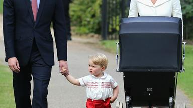 In pictures: Princess Charlotte christening