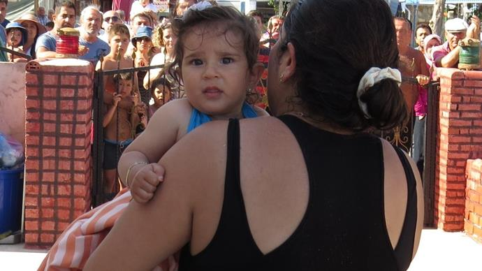 Baby who was 'forgotten about' drifted 1km out to sea before rescue