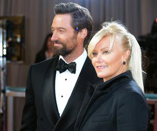 Hugh Jackman says 'no Brad Pitt' for Deborra-Lee Furness