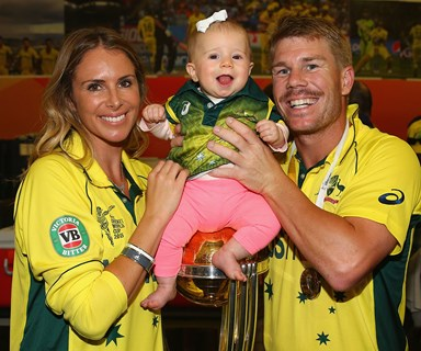 David Warner expecting second child