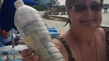 Widow sends travel-loving husband's ashes on final adventure