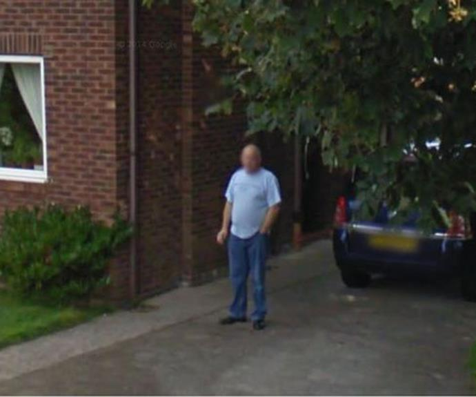 Google Street View uncovers husband's secret habit