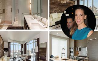 Million Dollar Baby: Inside Hilary Swank's NYC apartment