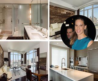 Million Dollar Baby: Inside Hilary Swank's NYC apartment
