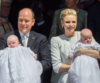 Princess Charlene opens up about twins