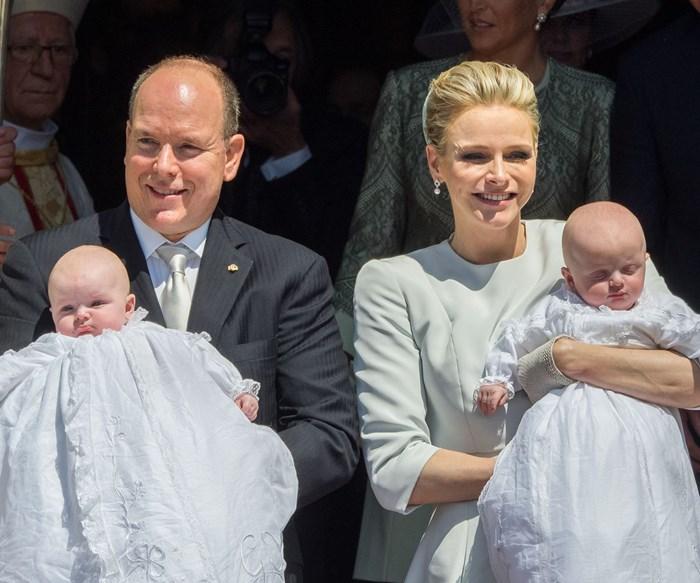 Princess Charlene opens up about twins